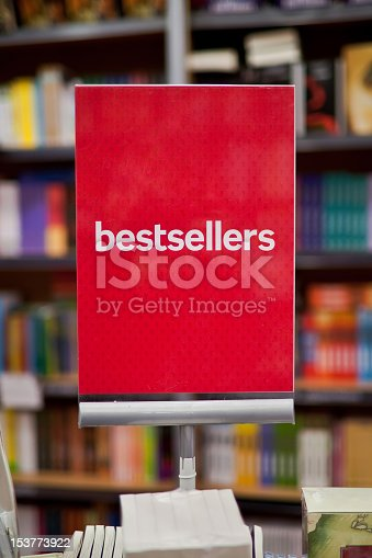 istock A bestsellers sign on a display in a bookstore 153773922