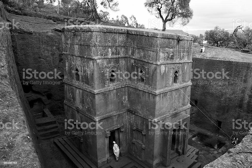 Bet Giorgis, Lalibela Ethiopia royalty-free stock photo