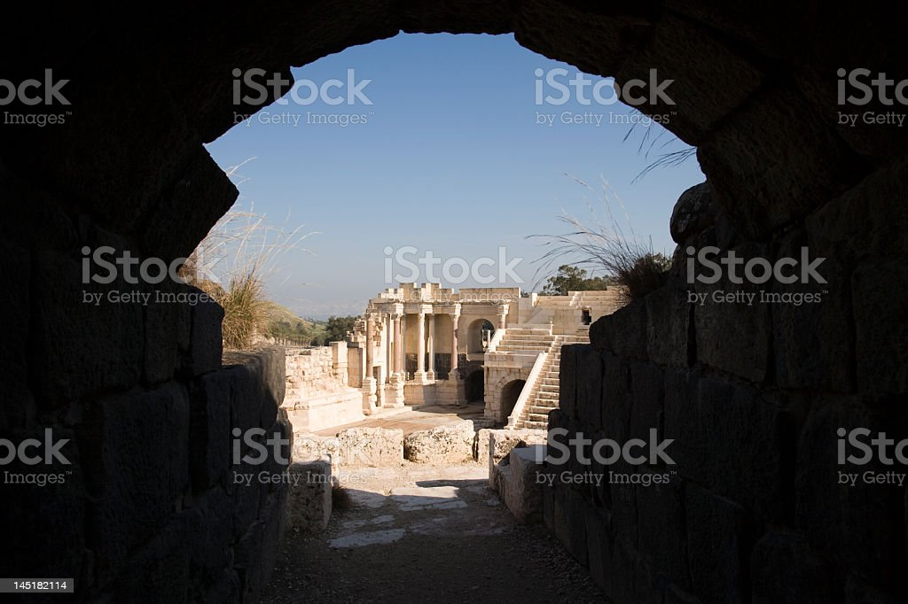 Bet She'an, Israel stock photo