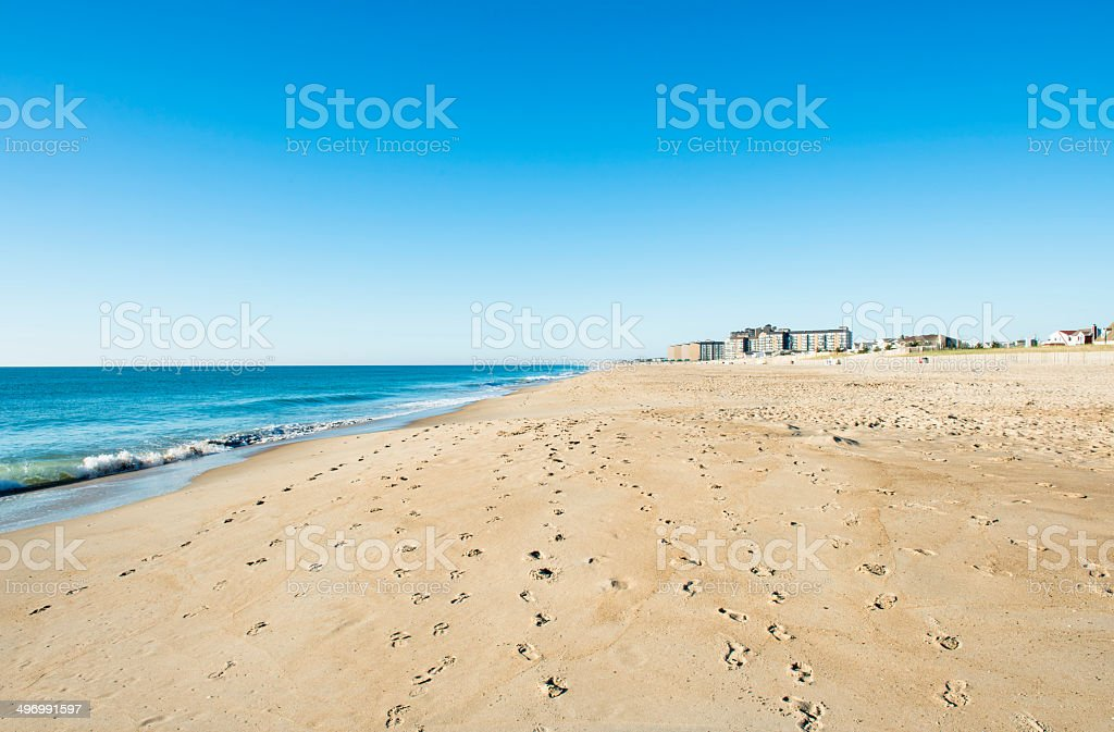 Bethany Beach, Delaware stock photo