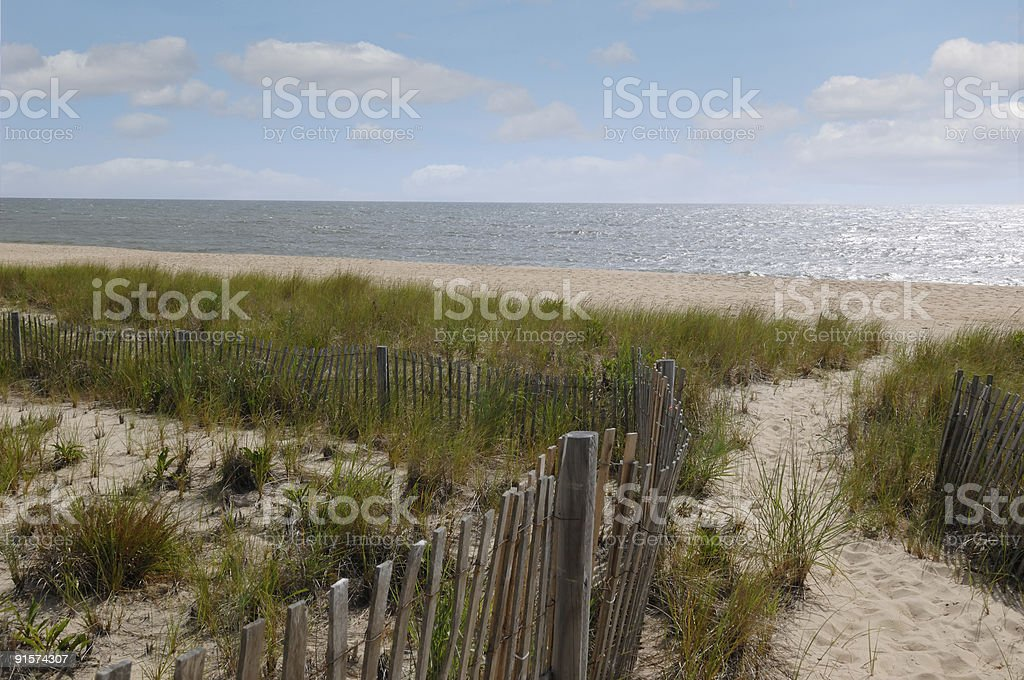 Bethany Beach Delaware stock photo