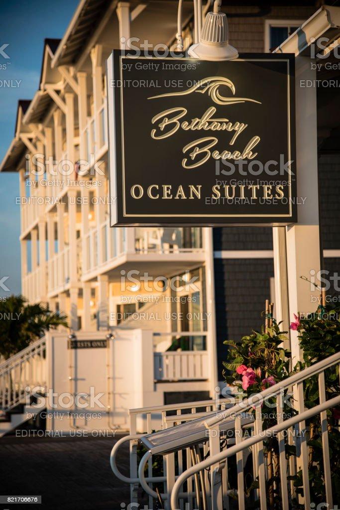 Bethany Beach Ocean Suites stock photo