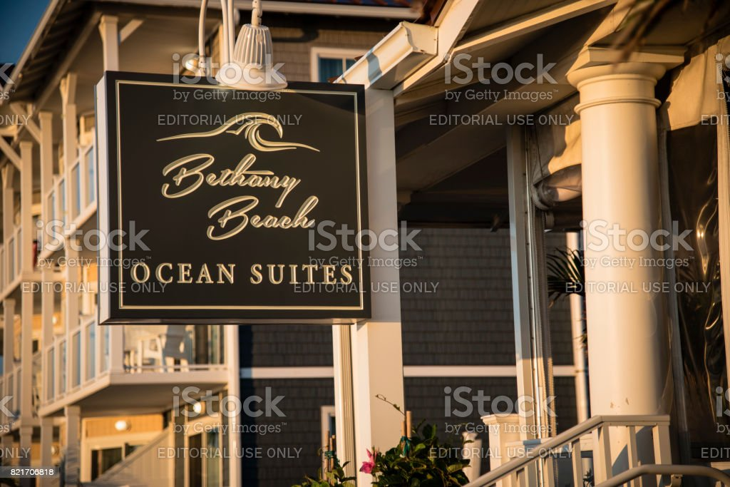 Bethany Beach Ocean Suites stock photo