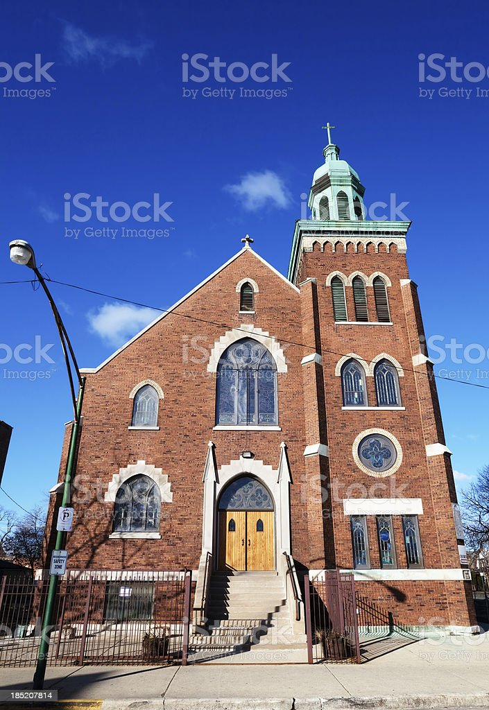 Bethel Church in West Garfield Park, Chicago royalty-free stock photo
