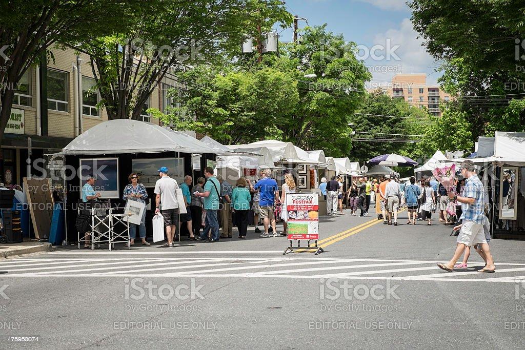Bethesda Fine Arts Festival stock photo