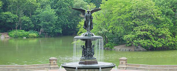 Bethesda Fountain - Central Park - New York stock photo