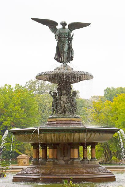 Bethesda Fountain, NY stock photo