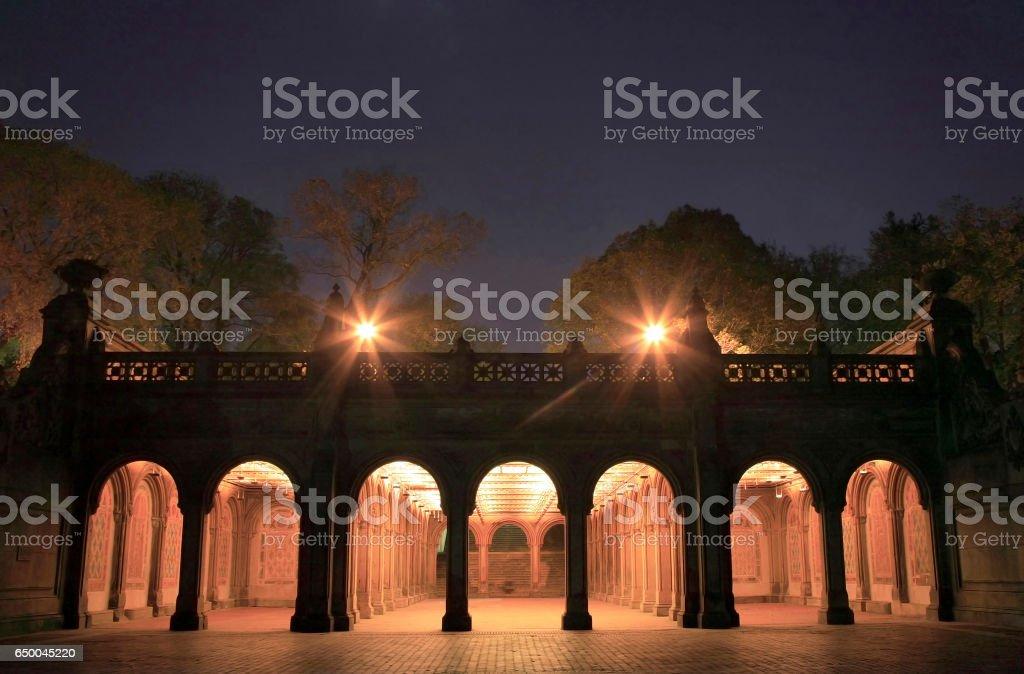 Bethesda Terrace Arcade 3192 stock photo