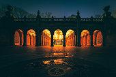 Bethesda Terrace, Central Park. New York, NY. USA