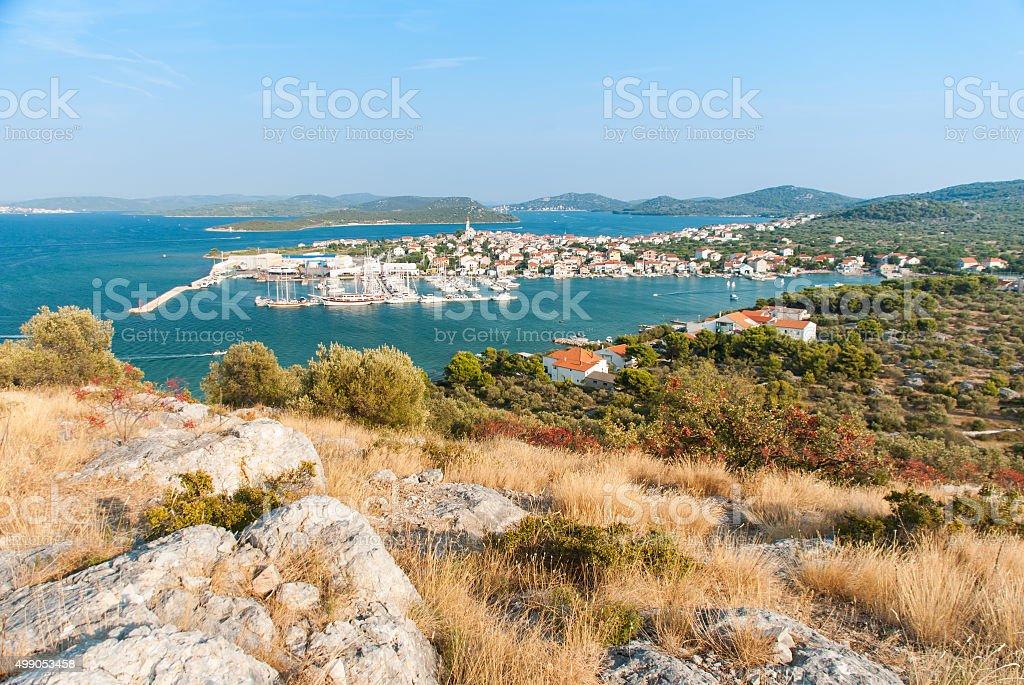 Betina, Murter Island, Croatia stock photo