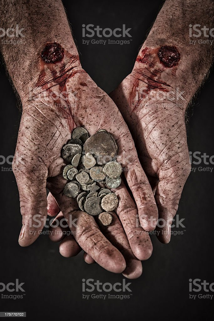 Betrayal Money stock photo