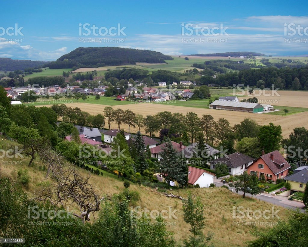 Bettendorf Town Scenic stock photo