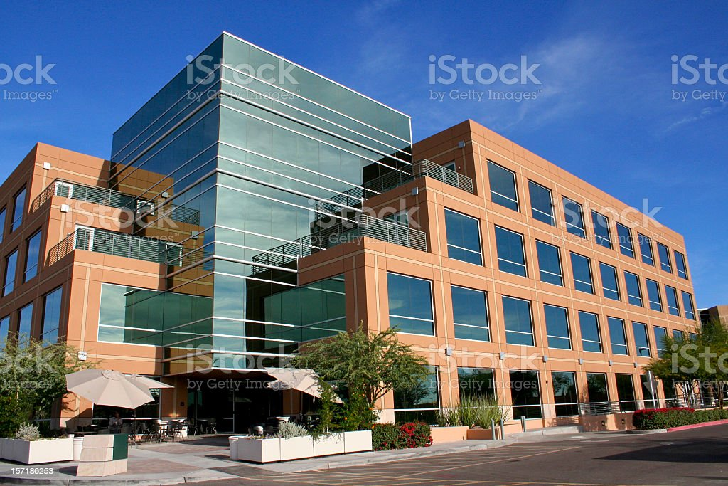 Better Business Building royalty-free stock photo
