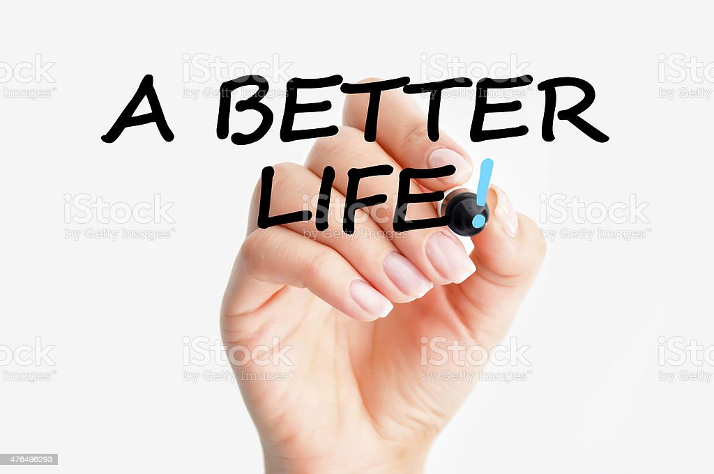 better life stock photo