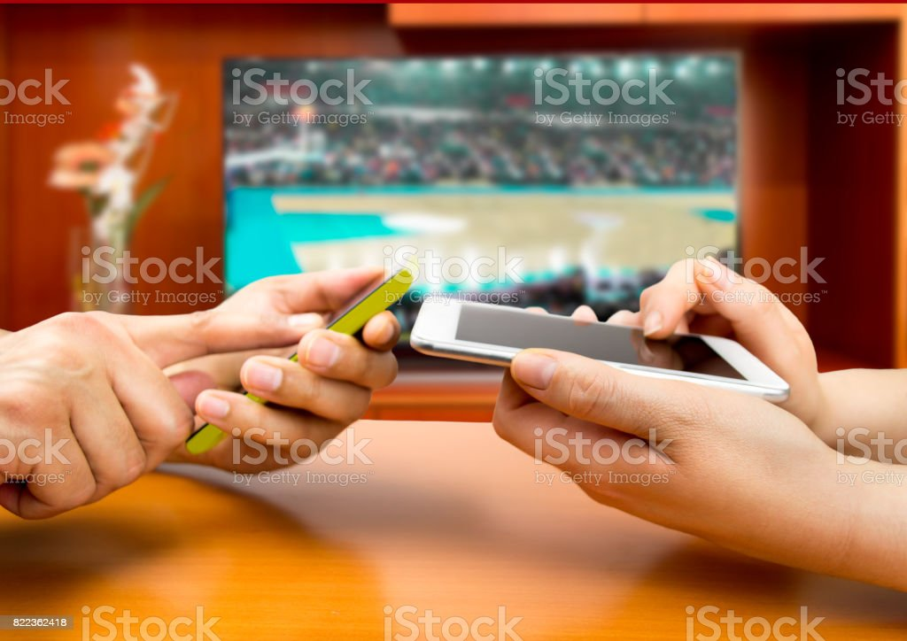 betting in basketball stock photo