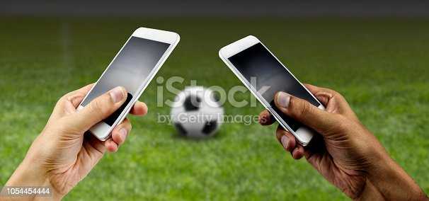 843298172 istock photo betting in football 1054454444