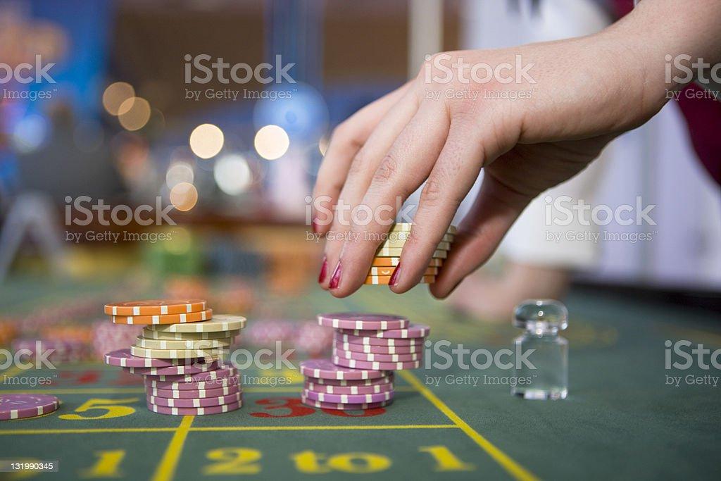 Betting royalty-free stock photo