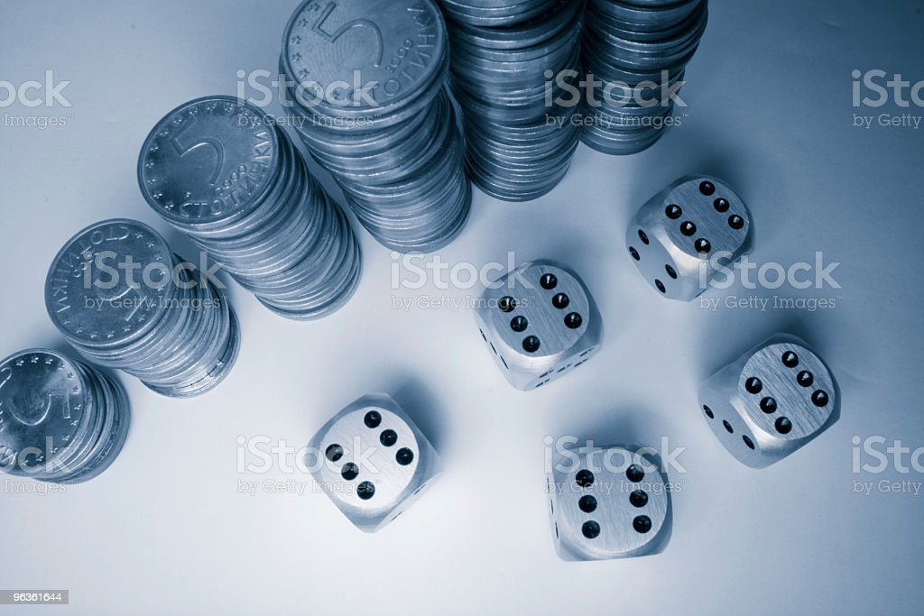 Betting royalty-free stock photo