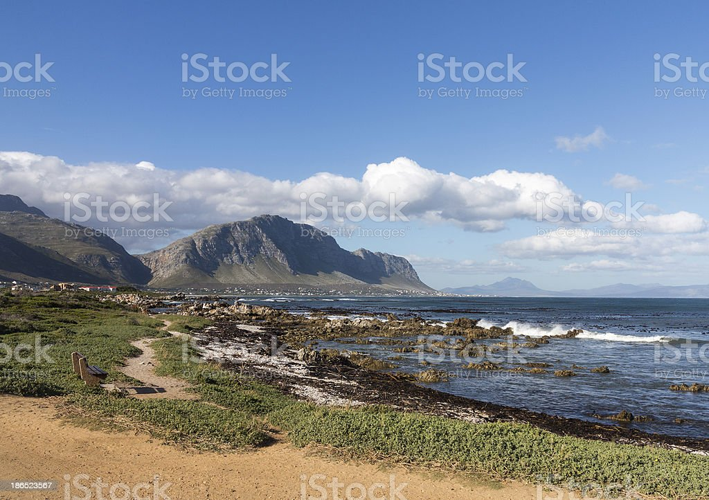 Bettys Bay Western Cape South Africa royalty-free stock photo