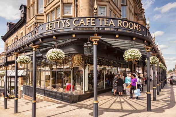 Betty's Cafe, Harrogate, North Yorkshire, UK stock photo