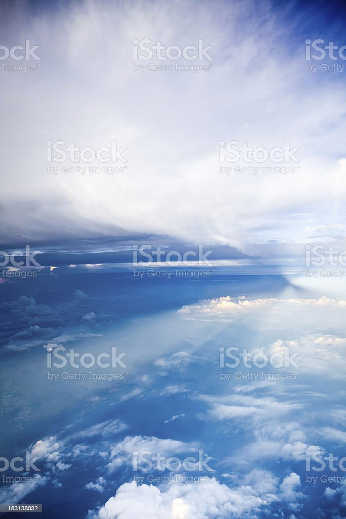 Between Clouds royalty-free stock photo