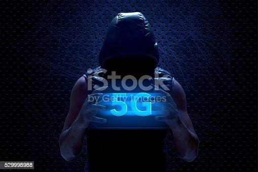 istock 5G between man hands 529998988