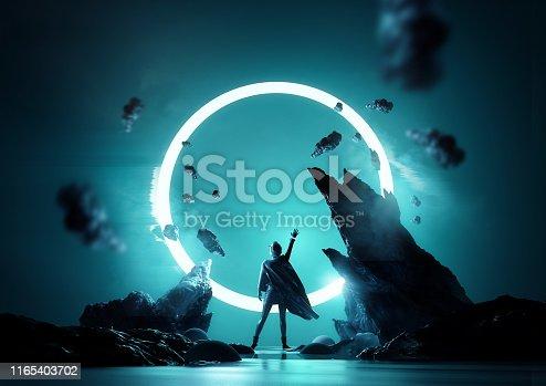 istock Between Worlds Fantasy Concept 1165403702