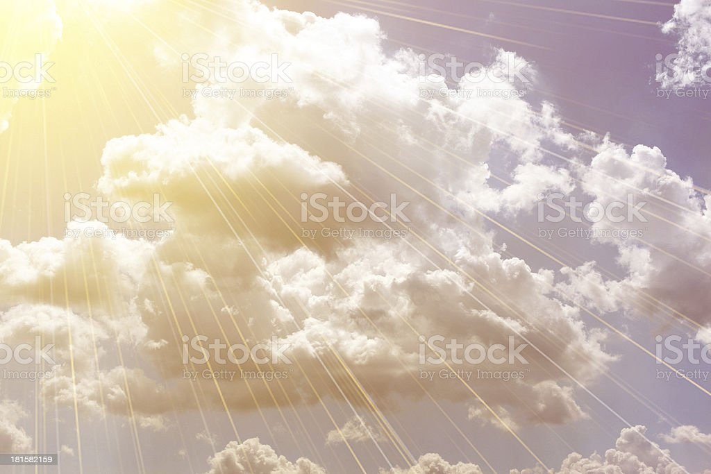 beutiful clouds royalty-free stock photo