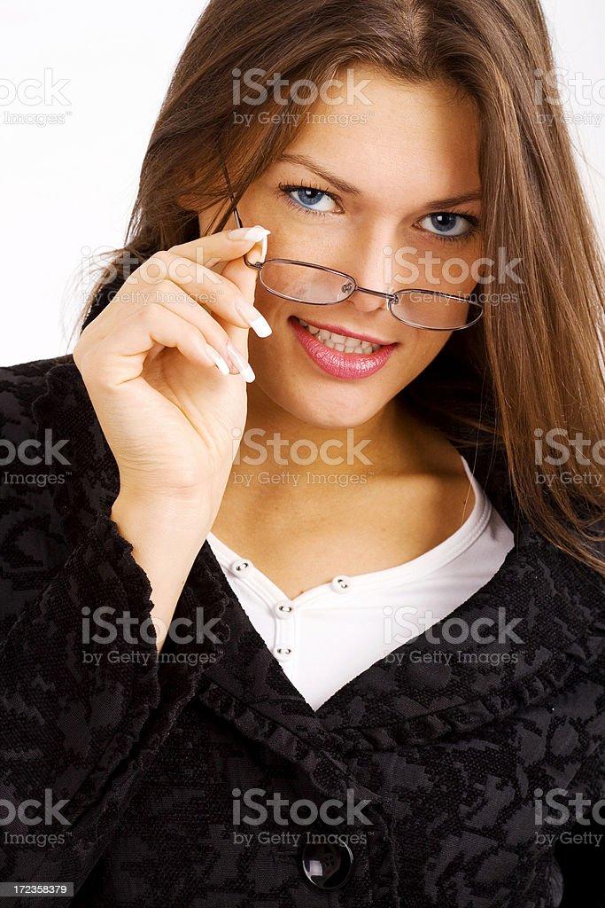 Beutiful woman royalty-free stock photo