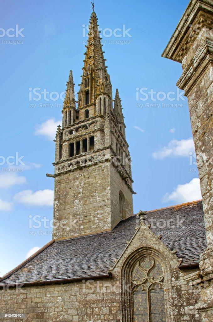 Beuzec cap sizun. Eglise Notre-Dame de la Clarté. Finistère. Bretagne stock photo
