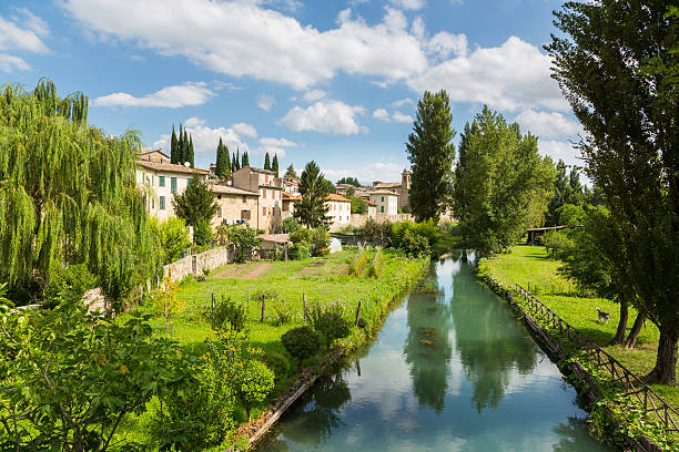 Bevagna - Umbria - Italy - foto stock