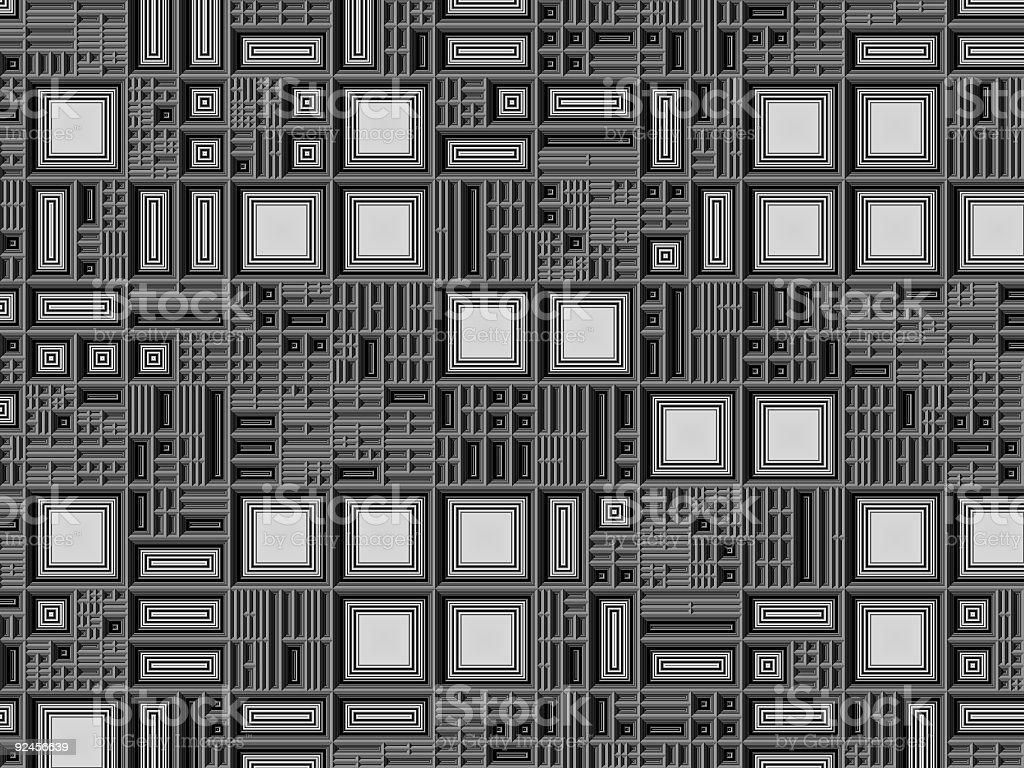 Beveled Grid royalty-free stock photo