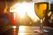 istock Beverage against the sun 1184000429