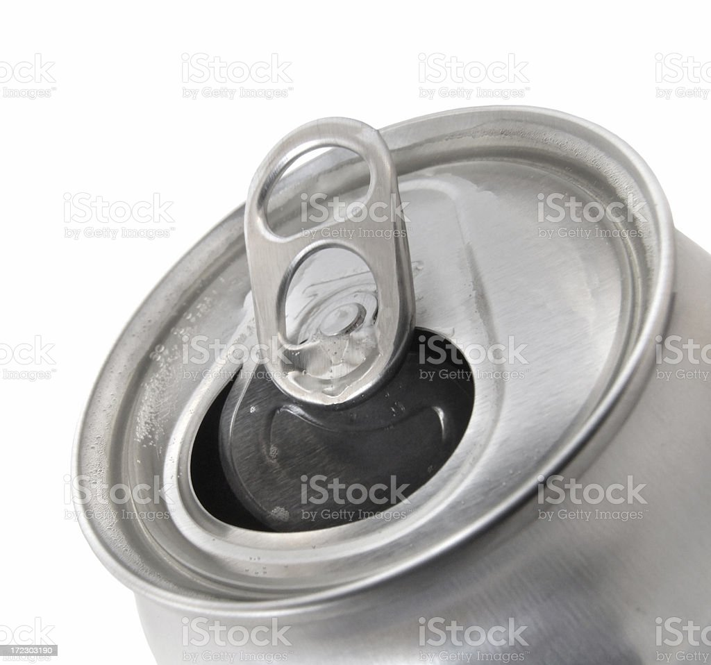 Beverage Can stock photo