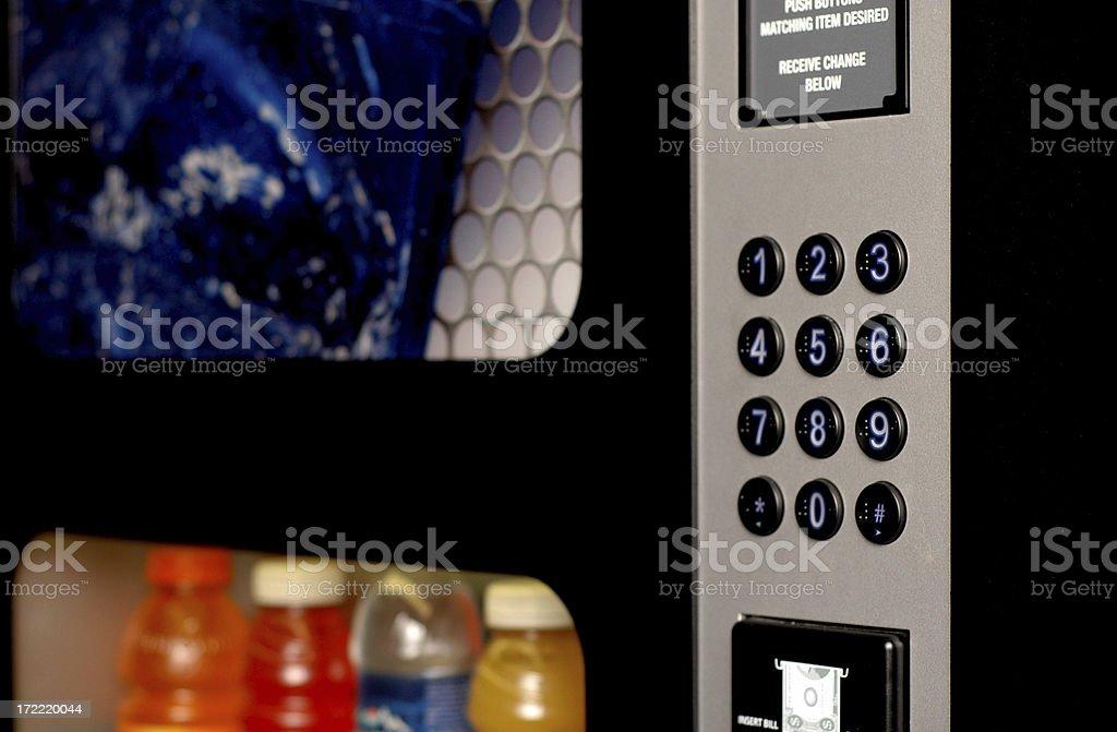 Beverage Vending Machine royalty-free stock photo