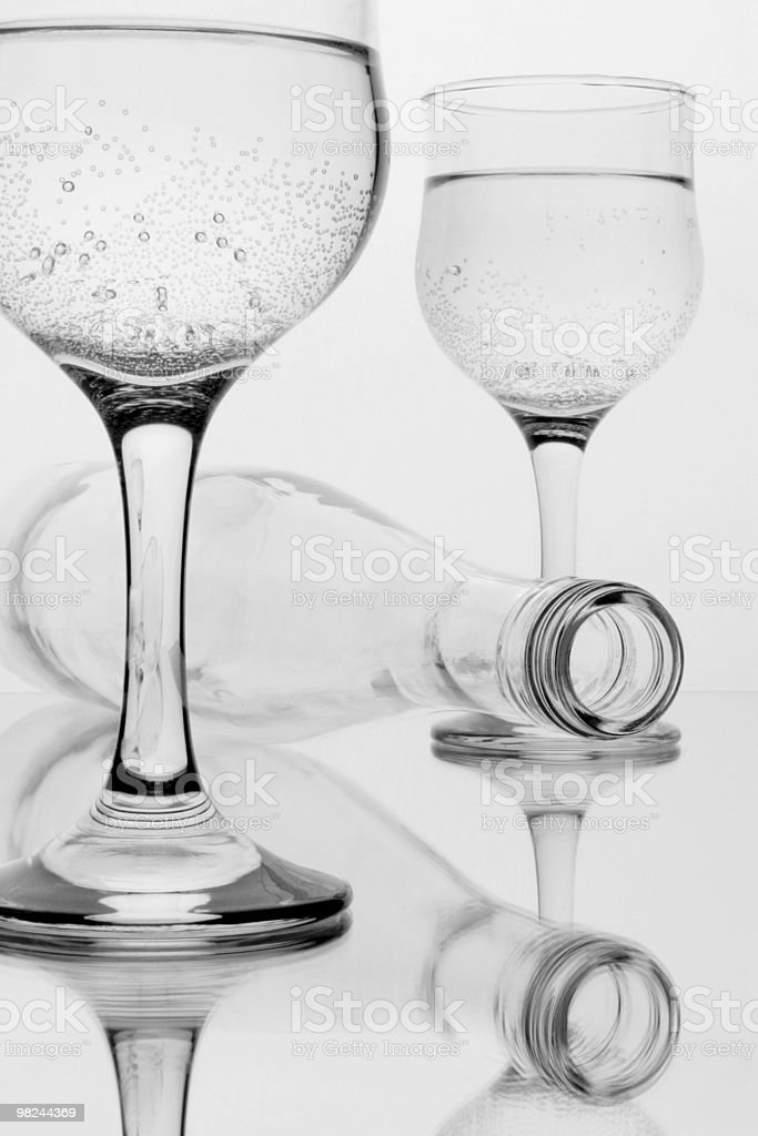 Beverage with bubbles royalty-free stock photo