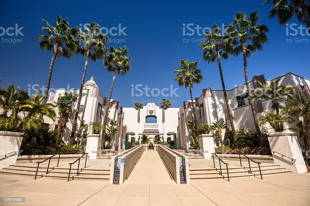 Beverly Hills City Hall Los Angeles stock photo