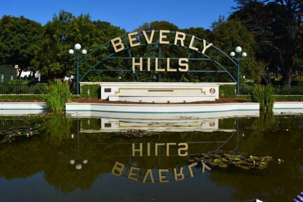 beverly hills - beverly hills stock-fotos und bilder