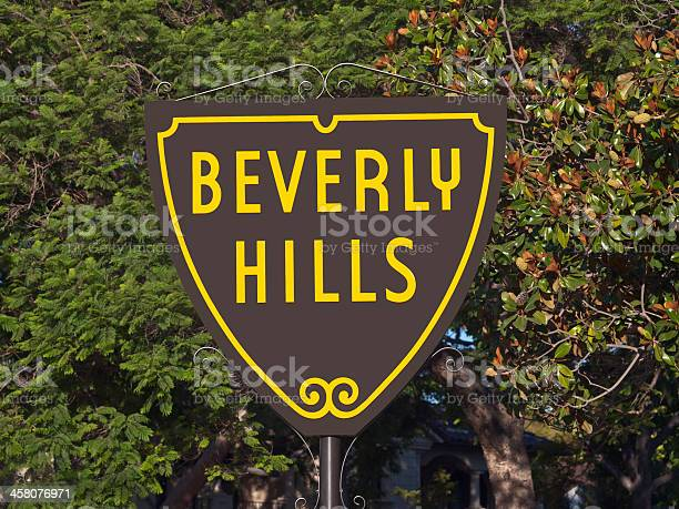 Beverly Hills Sign Stock Photo - Download Image Now