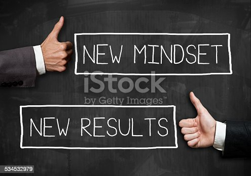 istock Bew Mindeset and New results / Blackboard concept(Click for more) 534532979