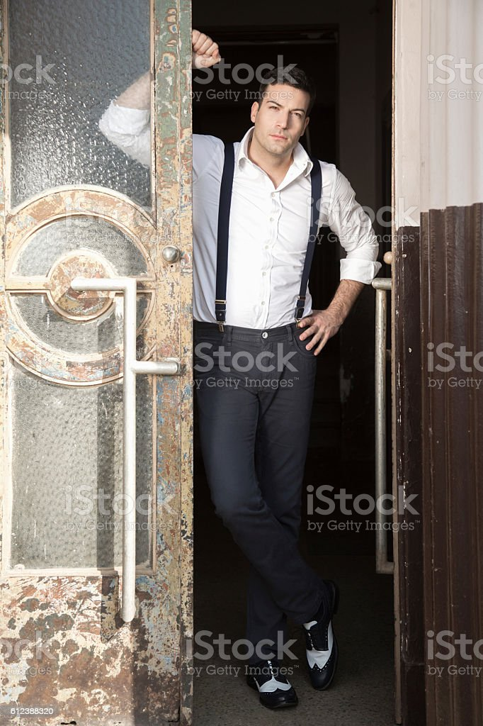 Beware, ladies! stock photo