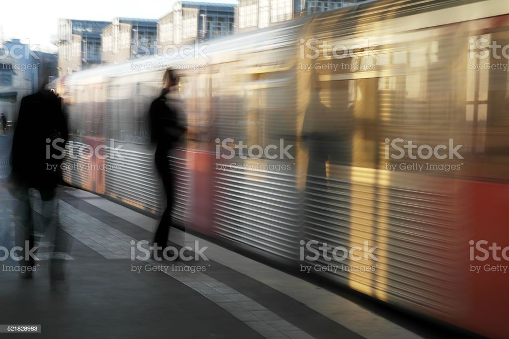 Bewegung stock photo