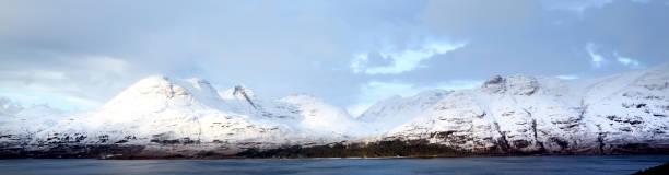 Bewinn Allign and Loch Torridon, Scotland, UK stock photo