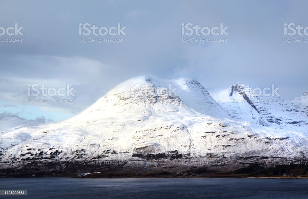 Bewinn Allign and Loch Torridon, Scotland, UK stock photo