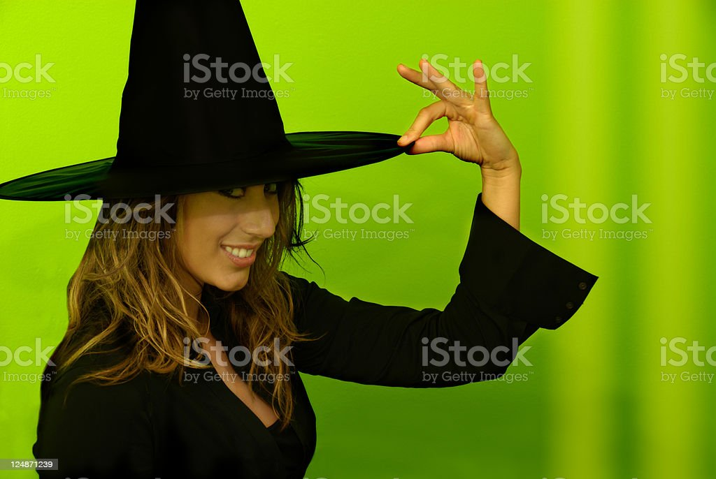 Bewitching Beauty royalty-free stock photo