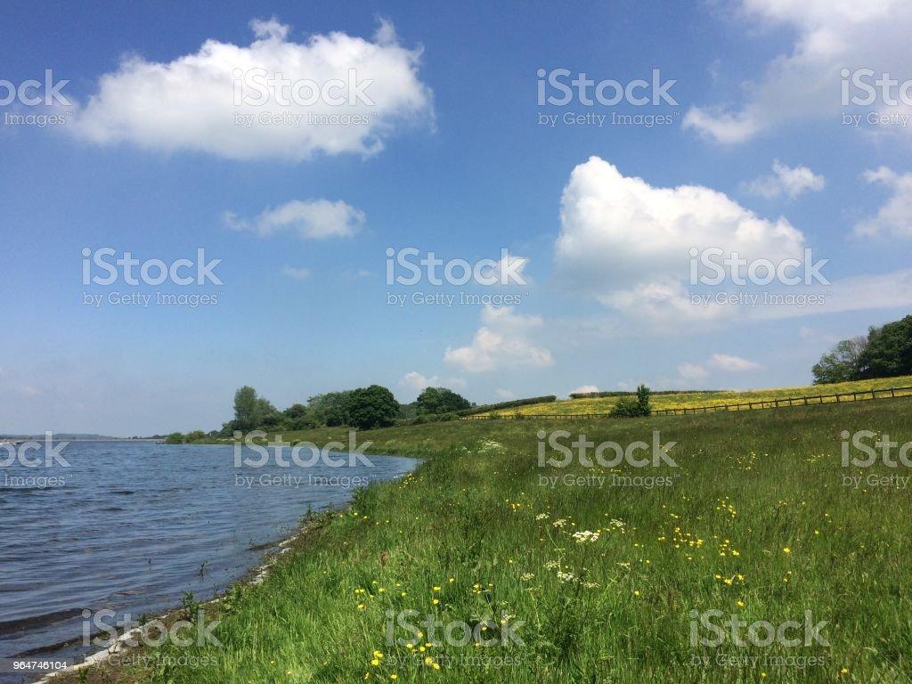 Bewl Water in Kent royalty-free stock photo