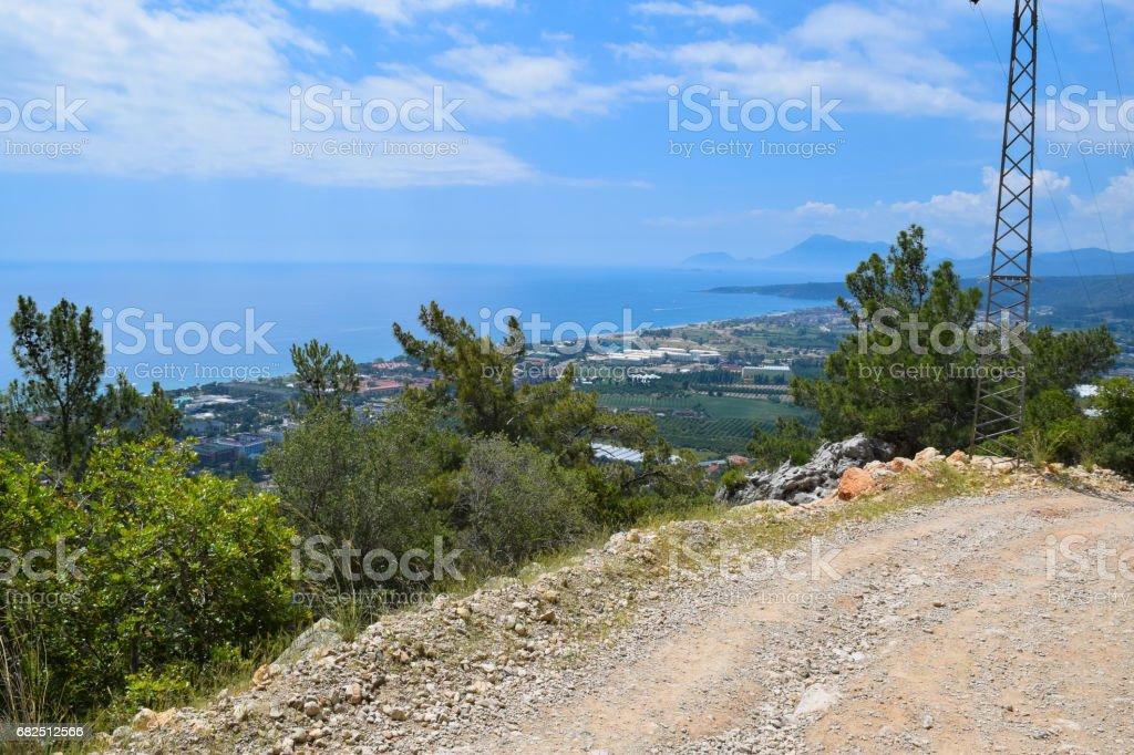 Beydaglari Coastal National Park (Sahil Milli Parki - Olympos Park). Wild nature of Mediterranean coastal region of Turkey Стоковые фото Стоковая фотография