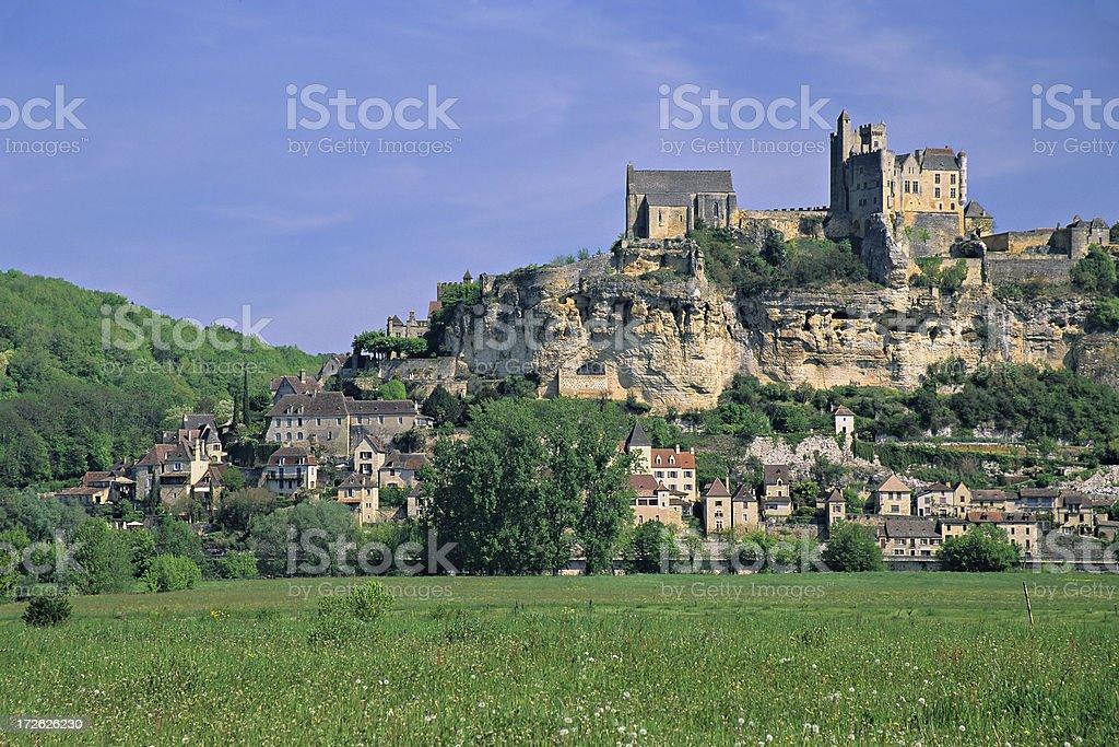 Beynac-et-Cazenac royalty-free stock photo