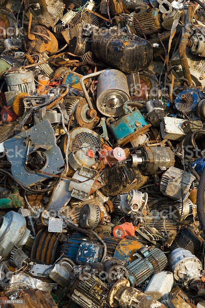 Beyond consumption society lies...trash!       (© Lobke Peers) royalty-free stock photo