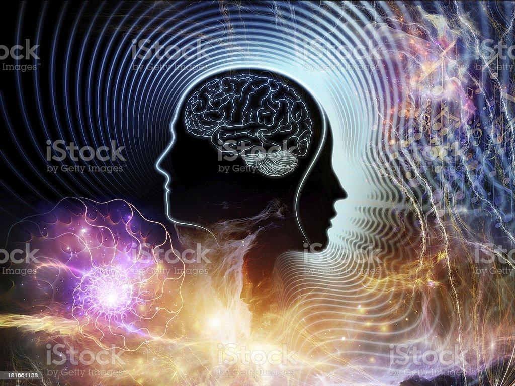 Beyond Human Mind royalty-free stock photo